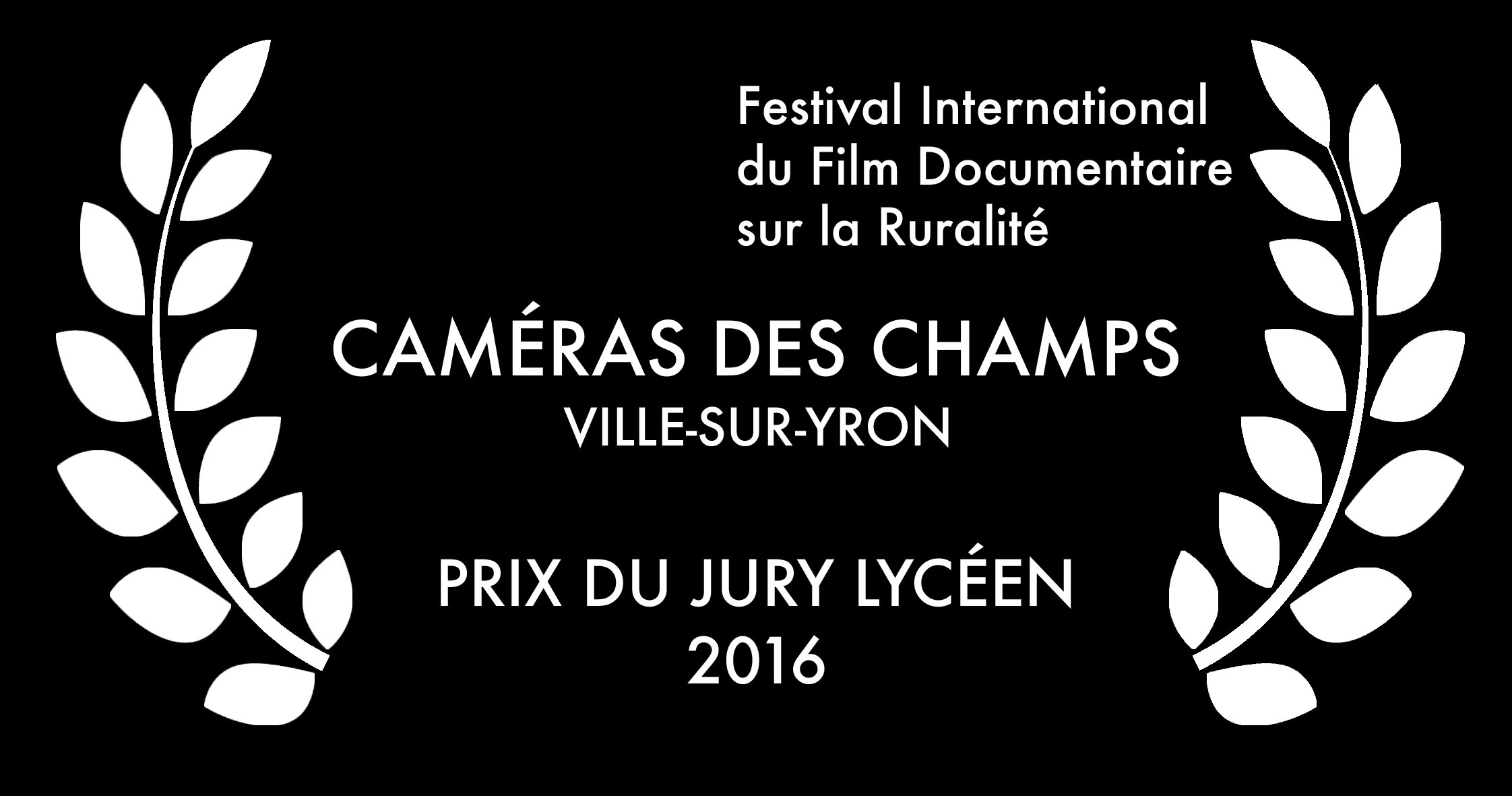 Festival International du Film Documentaire sur la Ruralité 2016 - Prix du jury lycéen